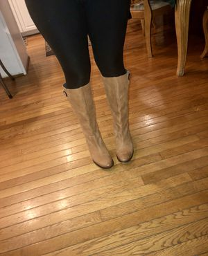 Authentic leather boots from Aldo for Sale in Boyds, MD
