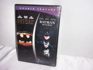 Brand New Batman/Batman Returns DVD Sealed for Sale in Beaumont, TX