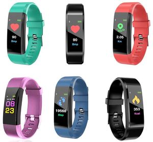 Smart Bracelet Fitness Tracker Smart Pedometer Watch Heart Rate Watch Band Smart Wristband For Apple Android Cell phones With Box for Sale in New York, NY