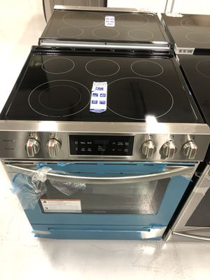 """NEW Electric Stove Slide In Stainless Steel 30"""" Oven w/ Warranty for Sale in Tempe, AZ"""