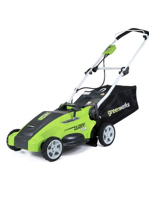 Greenworks 4.5 out of 5 stars 1,509 Reviews Greenworks 16-Inch 10 Amp Corded Lawn Mower 25142 for Sale in Greenfield, WI