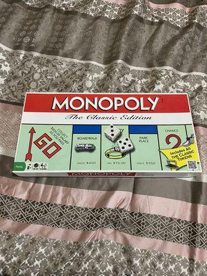 Monopoly Board Game (Classic Edition) for Sale in Covina, CA