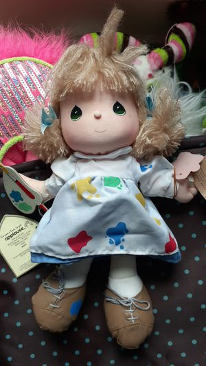 Precious moments art doll for Sale in Greenwood, IN