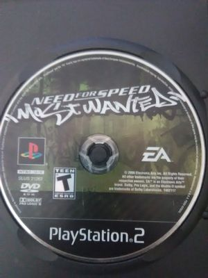 NFS MOST WANTED PS2 for Sale in Washington, DC