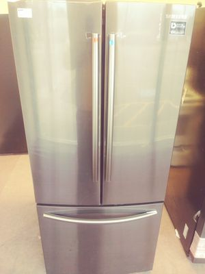 Samsung Black Stainless French Door Refrigerator for Sale in Fairview Park, OH