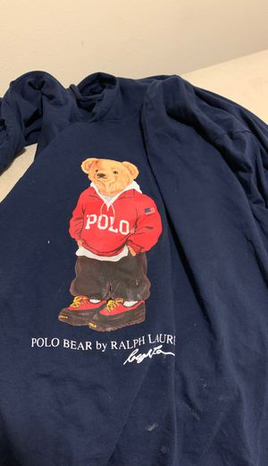 Polo teddy hoodie for Sale in Wasco, CA
