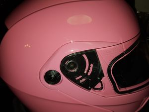 Istorm pink motorcycle helmet for Sale in Neenah, WI