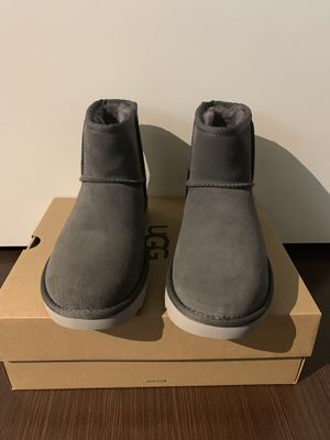 100% Authentic Brand New in Box UGG Classic Mini Boots / Color: Charcoal Grey / Women size 7 and 9 for Sale in Walnut Creek, CA