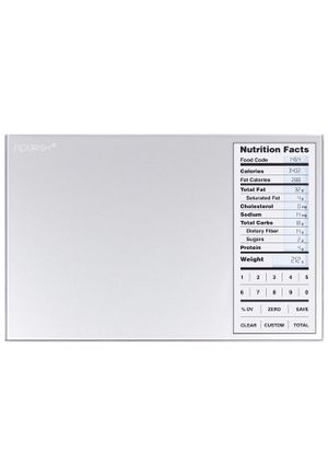 Nourish Digital Kitchen Scale, Food Scale with (New Backlit) Portions Nutritional Facts Display for Sale in Vernon, CA