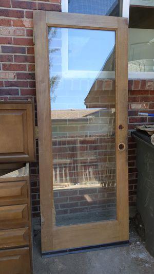 Wooden glass door for Sale in Littleton, CO