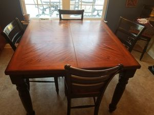 Bar height table and chairs for Sale in Chesapeake, VA