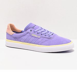 ADIDAS 3MC UNISEX SKATEBOARDING SHOES NORA V LIGHT PURPLE/SUN EF2398 SIZE 8 New without box for Sale in French Creek, WV