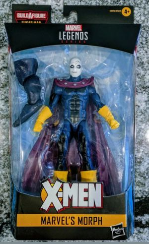 Marvel Legends Age of Apocalypse X-Men Morph Collectible Action Figure Toy with Sugarman Build a Figure Piece for Sale in Chicago, IL