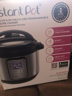 Instant pot duo plus 9 in 1 multi use for Sale in Richmond, CA