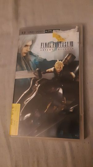 Final Fantasy VII Advent Children PSP for Sale in San Jose, CA