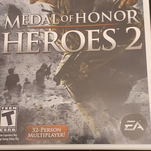 MEDAL Of HONOR HEROES 2 (Nintendo Wii + Wii U) for Sale in Lewisville, TX