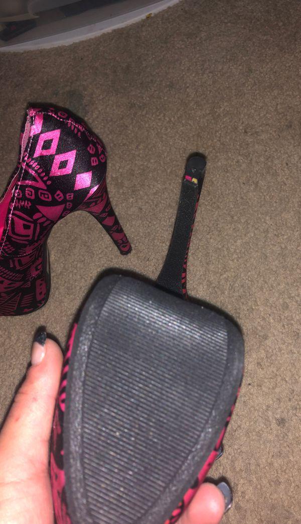 Hot pink, Stiletto, Heels, 8.5 women's, 8 1/2 women's