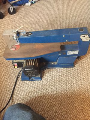 """16"""" portable scroll saw for Sale in Hendersonville, NC"""