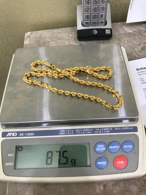 21k solid gold chain for Sale in Rockville, MD