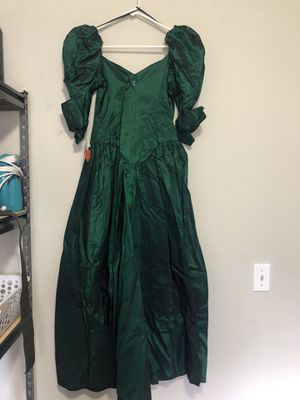 Vintage green prom dress for Sale in Smyrna, TN