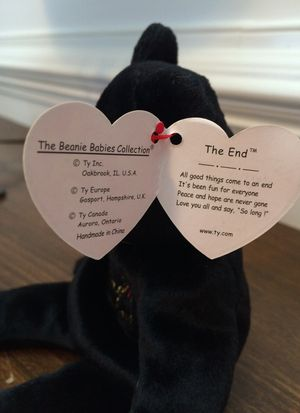 'The End' Beanie Baby for Sale in SEATTLE, WA