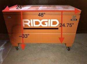 RIDGID 48 in. x 24 in. Universal Storage Chest for Sale in Stickney, IL