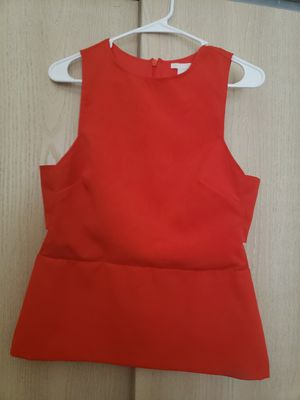 H&M size 12 red blouse for Sale in Columbia, MO