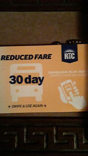 30 day bus fare for Sale in Las Vegas, NV