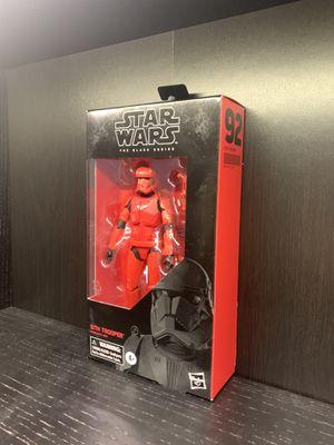 Star Wars Black Series Sith Trooper for Sale in Whittier, CA