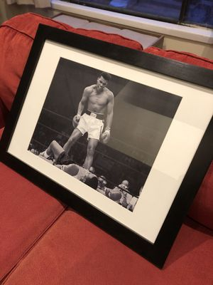 Muhammad Ali Framed Picture for Sale in Gaithersburg, MD