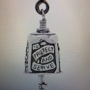 Police Bell Pendant - Sterling for Sale in Irving, TX
