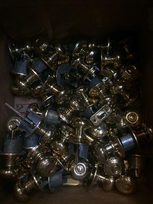 Box of Brass Door Knobs for Sale in Chesapeake, VA