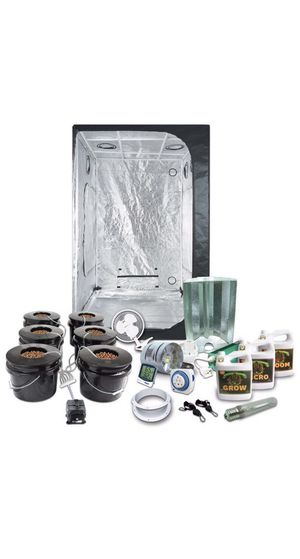 Dwc 6 bucket system(grow tent not included) for Sale in Stockton, CA