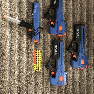 Nerf Blue Rival Lot With 29 Rounds for Sale in Irwindale, CA