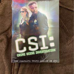 CSI: Third Season DVD for Sale in Carmichael,  CA