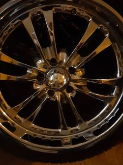 "20"" Rims w/Tires 255/40/20 for Sale in Stone Mountain,  GA"