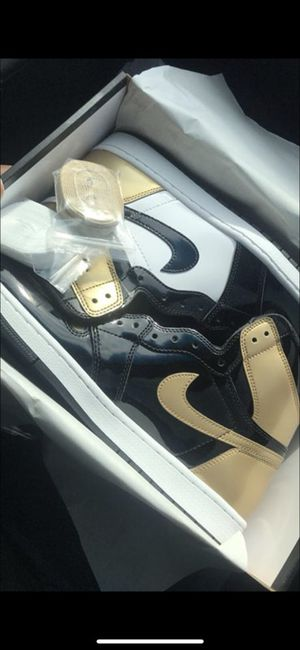 Gold Toes Brand New ( Air Jordan's ) for Sale in Dallas, TX