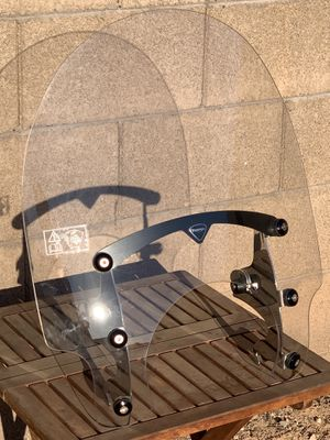 Triumph motorcycle windshield with mount for Sale in Surprise, AZ
