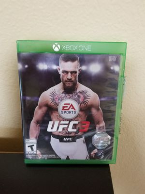 UFC 3 - XBOX ONE, PRICE FIRM, TRADE FOR REDEMPTION II OR MK 11 only for Sale in Garden Grove, CA