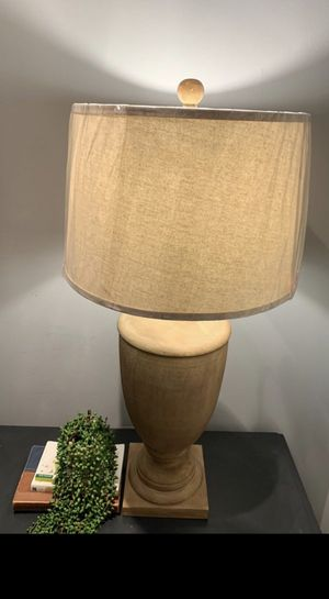 New, large lamp with shade for Sale in Baltimore, MD