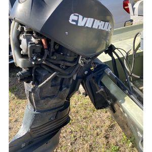 60 HORSEPOWER EVINRUDE OUTBOARD MOTOR for Sale in Winter Haven, FL