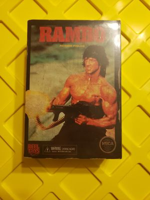 Neca reel toys Rambo, 8 bit nes inspired action figure for Sale in Crystal City, MO