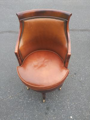 Antique chair with wheel casters for Sale in Philadelphia, PA