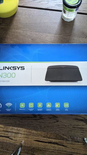 Linksys N300 Wifi Router for Sale in Charlotte, NC