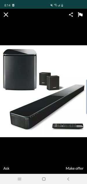 🔥 BOSE SOUND TOUCH 300, SOUND BAR. ACOUSTIMAS BASS AND VIRTUALLY INVISIBLE 🔥 for Sale in Phoenix, AZ
