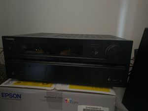 Home theatre receiver Onkyo for Sale in Annandale, VA