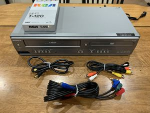 Magnavox MWD2206 DVD Player & VCR Combo w/ AV Component & Coaxial Cables & Tape for Sale in Fremont, CA