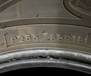 Goodyear P265 65R18 Trailer Tire for Sale in Woodlawn, MD