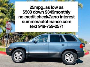 2002 Hyundai Santa Fe for Sale in Costa Mesa, CA