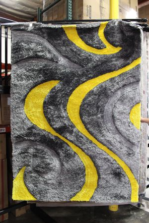 5ft x 7ft Area Rug, YELLOW for Sale in Downey, CA